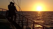 Aphrodite zeil boot Sunset Cruise