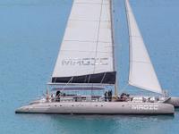 Tocht Grootste Zeilboot Katamaran Fuerteventura