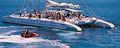 Catamaran Zeil Boot Blue Puerto Mogan